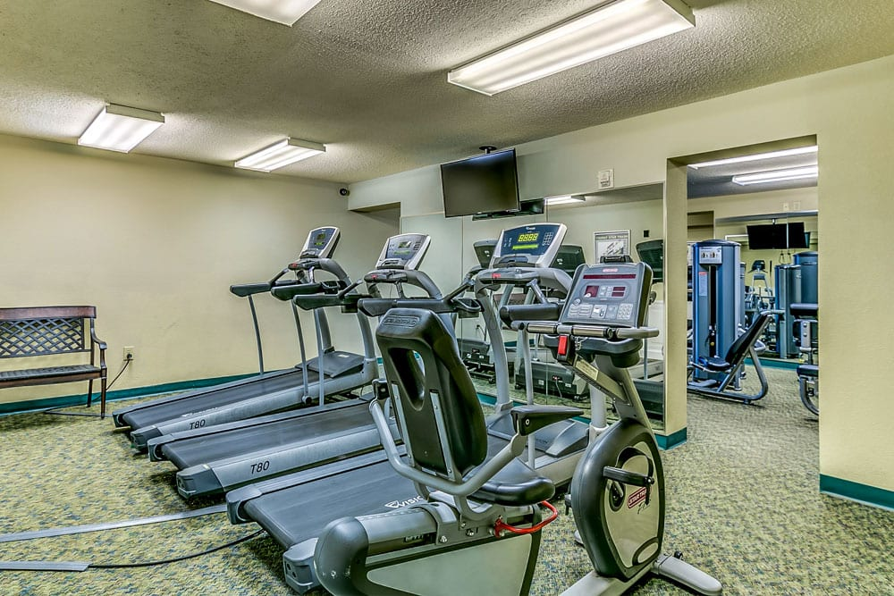 Fitness Center Dunes Village Amenities