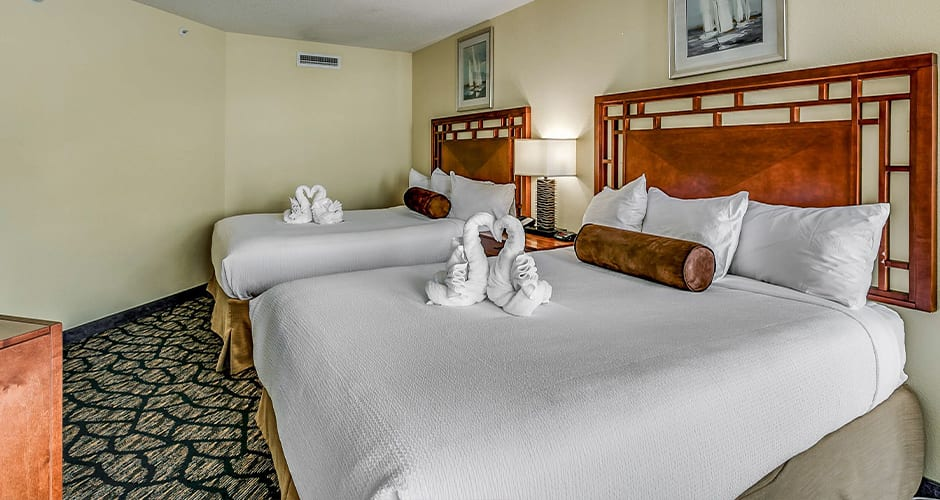 Luxurious Bedding In All Suites