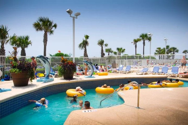 Myrtle beach Hotel with Lazy River