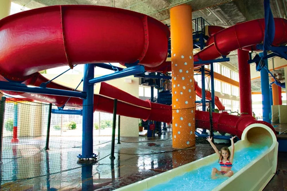 Winding Waterslide