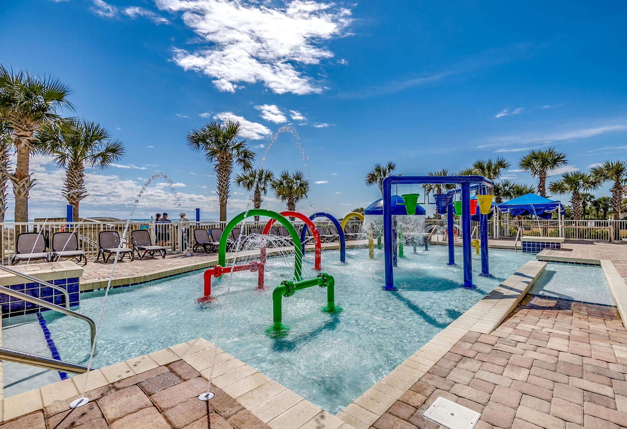 Outdoor Kids Splash Pool